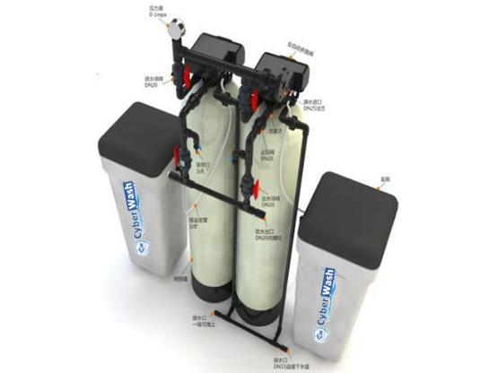 Система смягчения воды 2~4м3/час